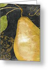 Melange French Yellow Pear Greeting Card