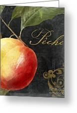 Melange Peach Peche Greeting Card