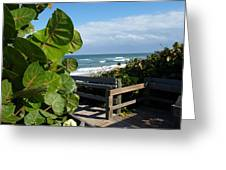 Melbourne Beach Florida Greeting Card