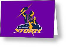 Melbourne Storm Greeting Card