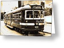 Melbourne Tram Greeting Card