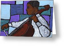 Mellow Blues Greeting Card