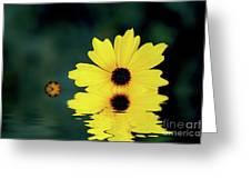 Mellow Yellow Greeting Card