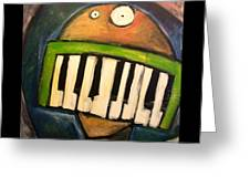 Melodica Mouth Greeting Card