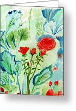 Melody Of Color Greeting Card