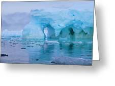 Melting Iceberg Greeting Card