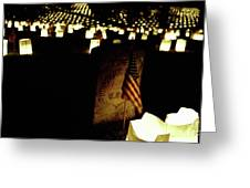 Memorial Day Luminary Greeting Card