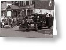 Memorial Day Parade  Ashley Pa  Corner Of W Hartford And Brown  Circa 1965 Greeting Card