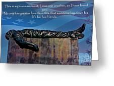 Memorial Day Remember Greeting Card
