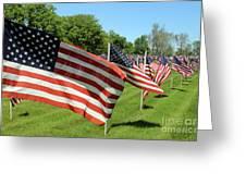 Memorial Day Tribute Greeting Card