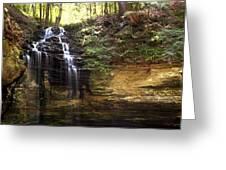 Memorial Falls Greeting Card