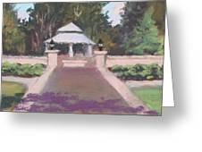 Memorial Garden Lakeside, Ohio Greeting Card