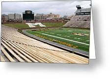 Memorial Stadium Greeting Card