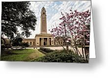 Memorial Tower Greeting Card