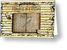 Memories 5 Greeting Card