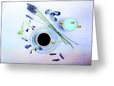 Memories And Coffee Greeting Card