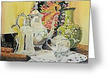 Memories In Reflection I Greeting Card