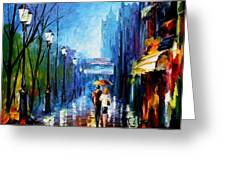 Memories Of Paris Greeting Card