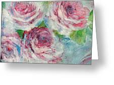 Memories Of Roses Greeting Card