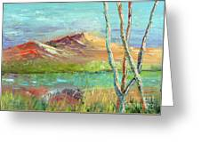 Memories Of Somewhere Out West Greeting Card
