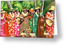Memories Of The Kodak Hula Show At Kapiolani Park In Honolulu #20 Greeting Card
