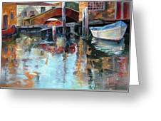 Memories Of Venice Greeting Card
