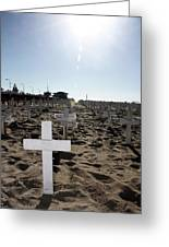 Memories On The Beach Greeting Card