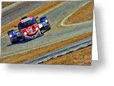 Memorojas And Katherine Legge Tudor United Sportcar Championship Greeting Card