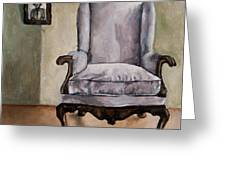 Memory Chair Greeting Card