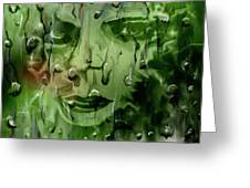 Memory In The Rain Greeting Card by Darren Cannell