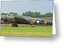 Memphis Belle 3912 Greeting Card