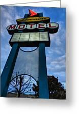 Memphis - Lorraine Motel 001 Greeting Card by Lance Vaughn