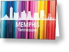 Memphis Tn 2 Squared Greeting Card