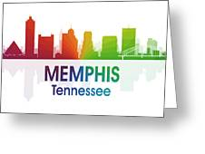 Memphis Tn Greeting Card