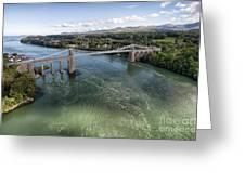 Menai Bridge 2 Greeting Card