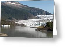 Mendenhall Glacier Alaska Greeting Card