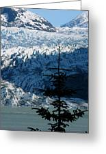 Mendenhall Glacier Greeting Card