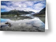 Mendenhall Lake Greeting Card
