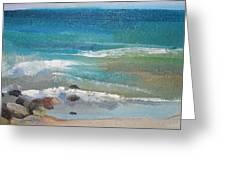 Mendocino Coast-ocean View Greeting Card