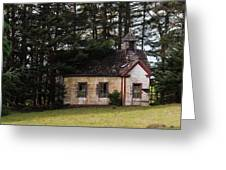 Mendocino Schoolhouse Greeting Card