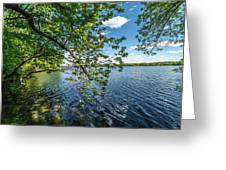 Mendota Lake Greeting Card
