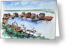 Menemsha Safe Haven Greeting Card