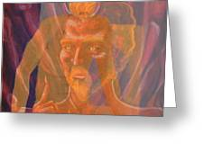 Mephistopheles And Faust The Deal Is Made Greeting Card