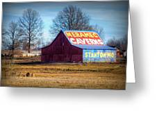 Meramec Caverns Barn Greeting Card