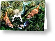 Merbaby's Treasures Greeting Card
