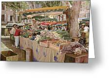 Mercato Provenzale Greeting Card
