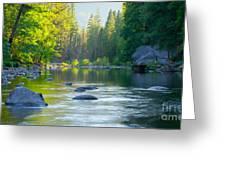 Merced River Greeting Card