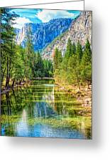 Merced River Greeting Card