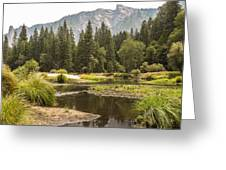 Merced River Yosemite Valley Yosemite National Park Greeting Card