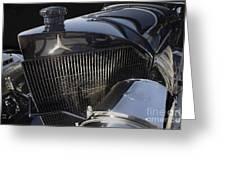 Mercedes 37-05 Torpedo 1913 Greeting Card